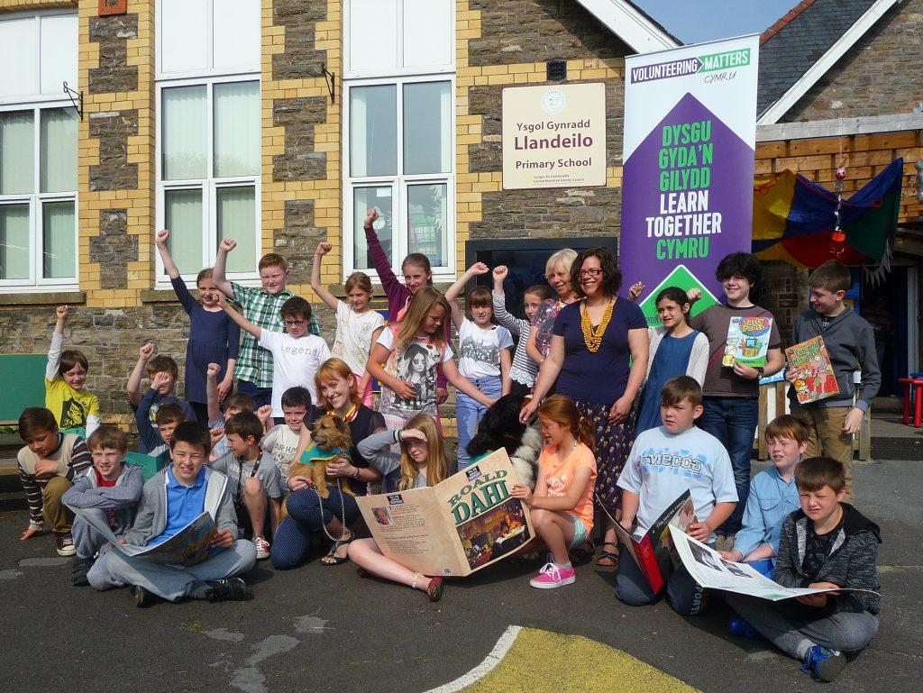 uk volunteering wales learn together cymru
