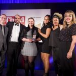 Volunteering Matters team collecting award